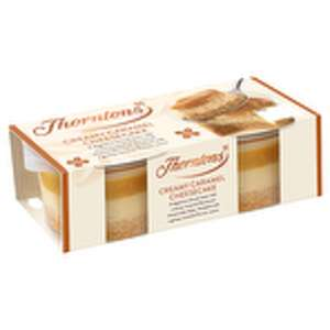2 Pack THORNTONS Creamy Caramel Cheesecake 39p instore at Farmfoods sutton