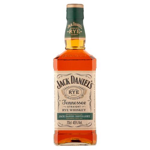Jack Daniel's 45% 70cl Tennesse straight Rye whisky £20 @ Asda