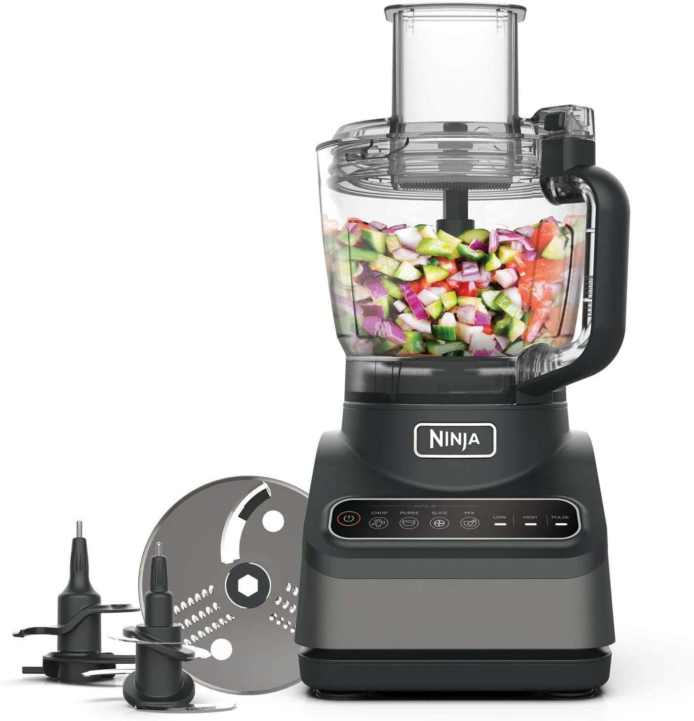 Ninja BN650UK Food Processor 2.1 Litres 850 Watt Silver New £78.40 from AO