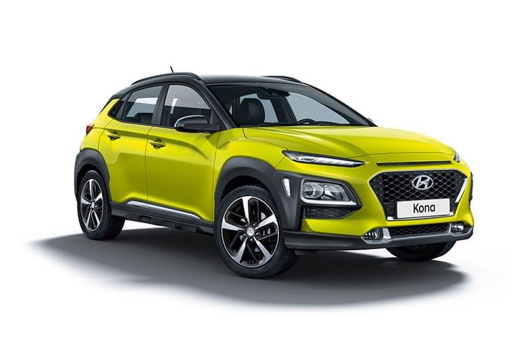 Hyundai Kona 150kW Premium 64kWh 5dr Auto 6k miles £2411.28 upfront + 23 x £200.94 a month +£300 admin £7,332.90 @ Britannia Car Leasing