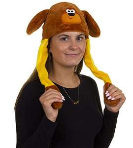 Hey Duggee 1986 Flappy Ears Adult Hat, Brown £3.14 Amazon Prime (+£4.49 Non Prime)