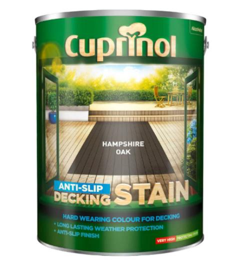 Cuprinol anti-slip 5L decking stain £29 instore @ B&M Blantyre
