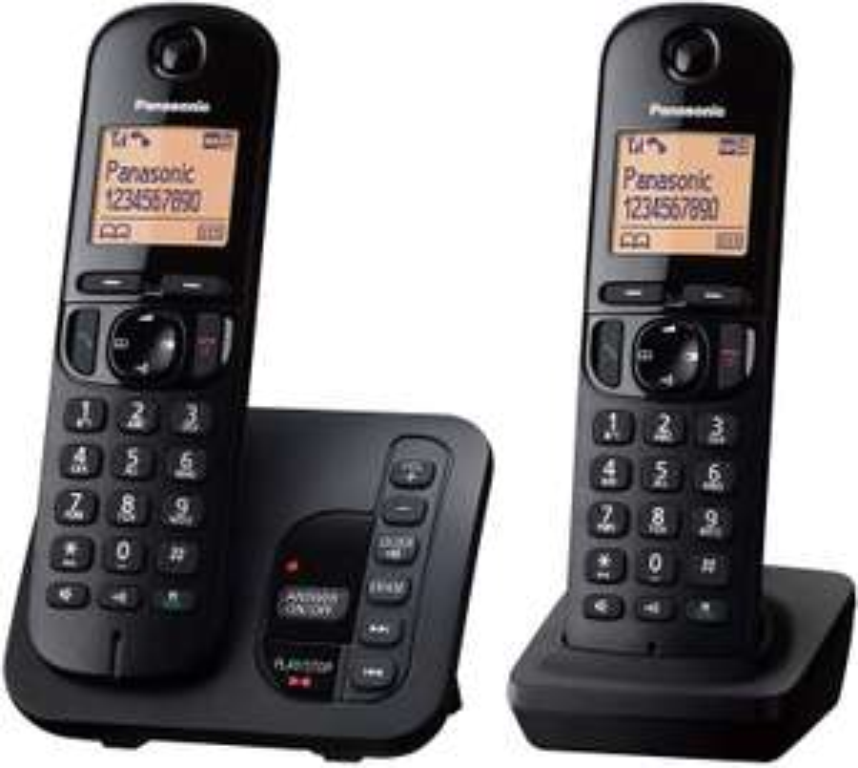 Panasonic KX-TGC222 Cordless Phone Twin Pack - £14.50 @ Asda (Belvedere)