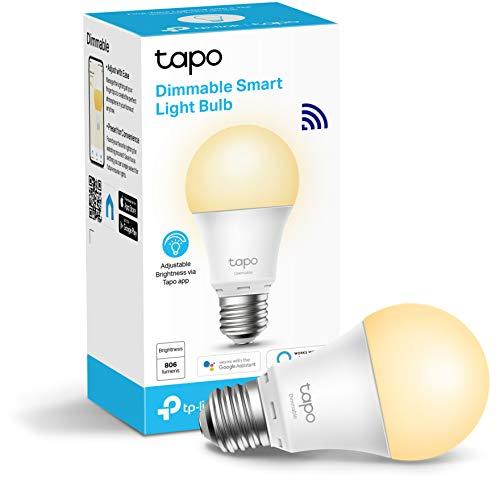 TP-Link Tapo Smart Bulb, E27 Dimmable - £6.50 +£4.49 non prime / Colour-changeable E27 at £7.62 +£4.49 non prime at Amazon