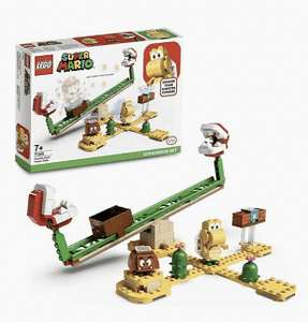 Lego super Mario expansion set - piranha plant slide - £3.13 Instore @ Tesco Parkhead Glasgow