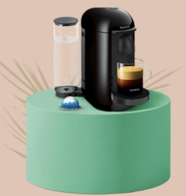 Vertuo Plus nespresso coffee machine + Free Gift - £79 @ Nespresso Store