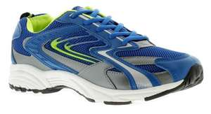 Focus Vision Mens Trainers Blue £12 using code! ALL UK Sizes 6 - 13 on eBay/wynsor shoes