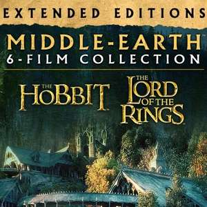 Middle Earth extended edition 6 movie set on iTunes (4k) £34.99 @ iTunes Store