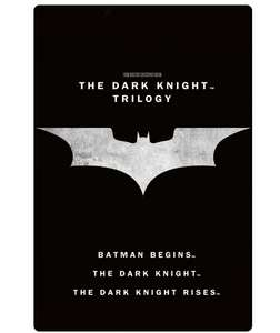 The Dark Night Trilogy 4k £12.99 @ iTunes Store (iTunes Player required)