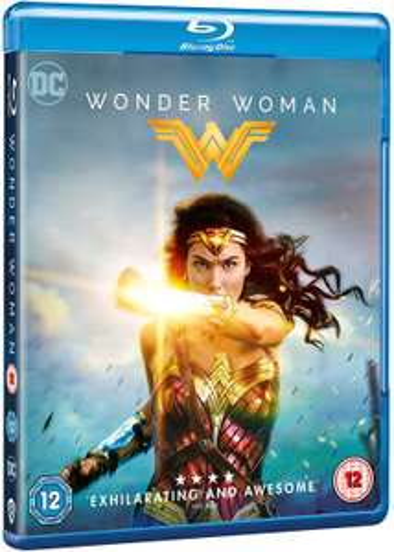 Wonder Woman [New & Sealed] Blu-Ray £3.89 @ josh-media/eBay