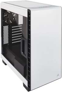 Corsair White 400C Carbide Clear Windowed Gaming PC Case £49.99 delivered at Scan