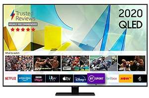Samsung QE65Q85T 65 inch 4K Ultra HD HDR 1500 Smart QLED TV with Apple TV app Freesat HD Free 5 Year Guarantee £929 Beyond Television