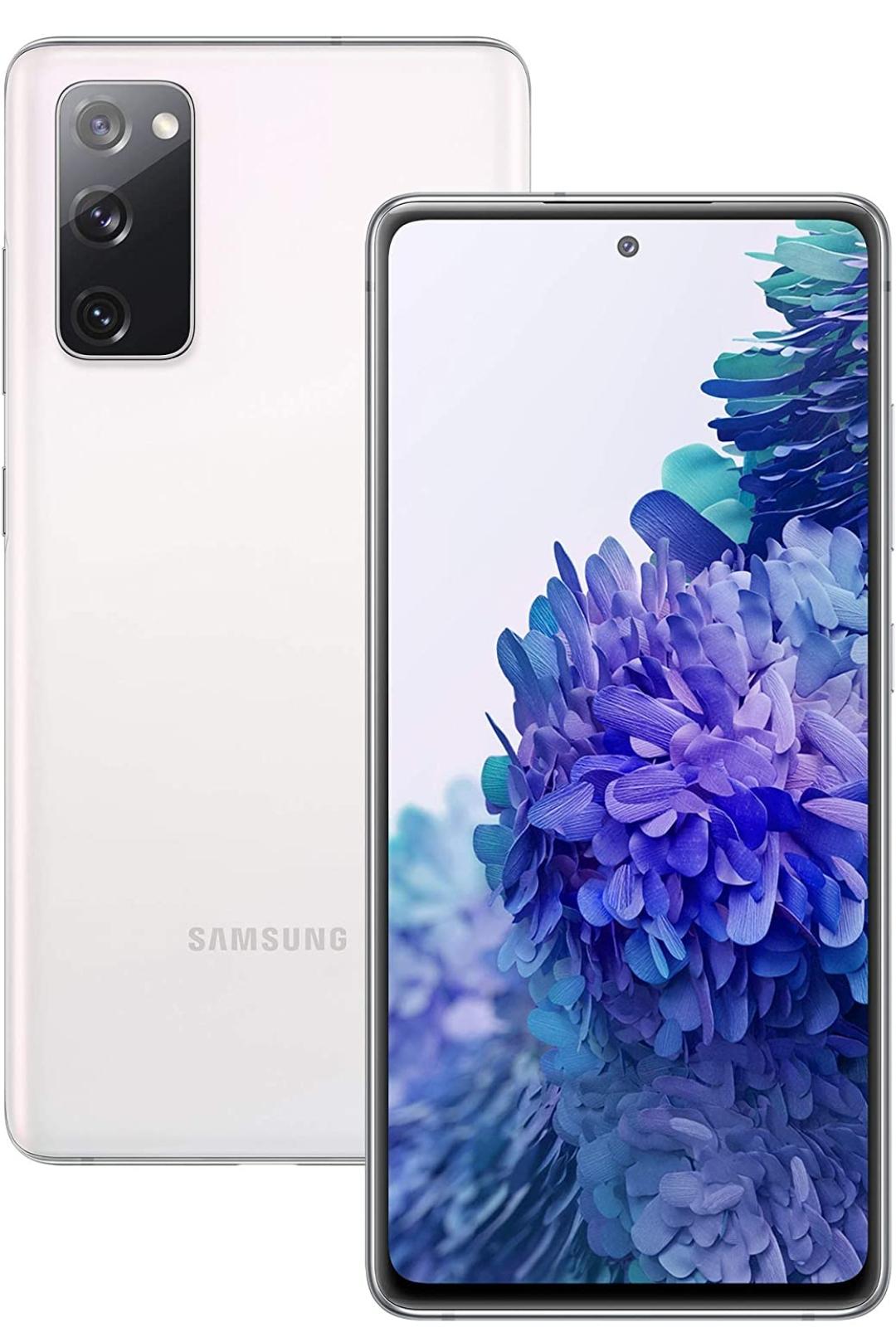 Samsung Galaxy S20 FE Snapdragon 865 Mobile Phone Sim Free Smartphone 256 GB Cloud White (UK Version) - £497.78 @ Amazon