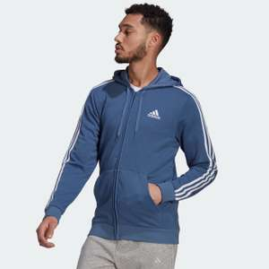 Adidas Essentials French Terry 3-Stripes Full-Zip Hoodie - £24.86 delivered with code from Adidas App (Creators Club member) @ adidas