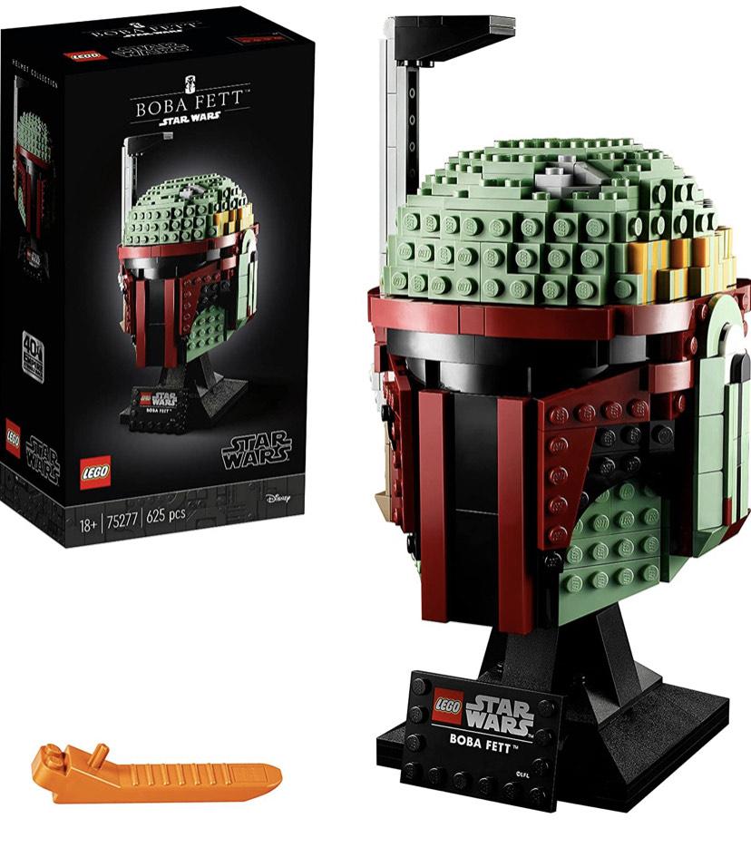 Lego Star Wars 75277 Boba Fett Helmet £39.85 @ Amazon EU (UK Mainland only)