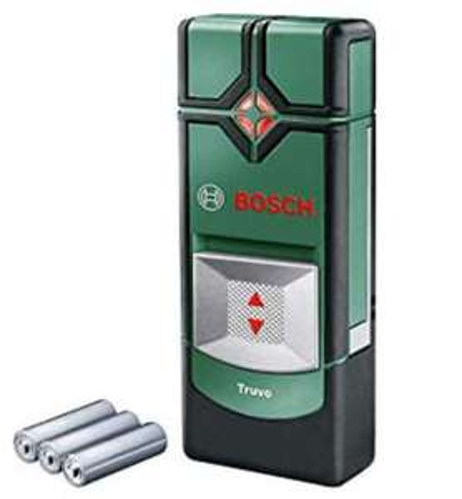 Bosch 0603681200 Detector Truvo (3 x AAA batteries, max. detection depth: 70 mm), Green, 29.0 mm*143.0 mm*60.0 mm - £30 @ Amazon