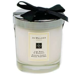 Jo Malone scented candle 200g - Lime, Basil & Mandarin - £37.20 delivered (UK mainland) with code @ eBay / hogiesonline