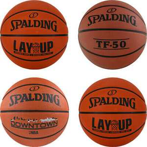 Spalding Basketball NBA Training Basketballs size 7 (choice of three styles) for £15.99 delivered @ eBay / authentic_sportswear_bargains