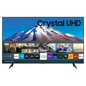 Samsung UE50TU7020KXXU 50 Inch TV Smart 4K Ultra HD LED Freeview HD 2 HDMI - £369 delivered with code @ Hughes / eBay (UK Mainland)