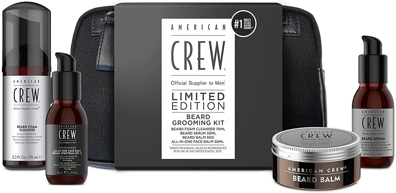 American Crew Beard & Skincare With Washbag - £10.22 Prime / +£4.49 non Prime @ Amazon