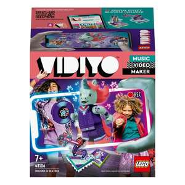 LEGO VIDIYO 43106 Unicorn DJ BeatBox / LEGO VIDIYO 43104 Alien DJ BeatBox - Music Video Maker Toys £7.99 @ Smyths - free Click & Collect