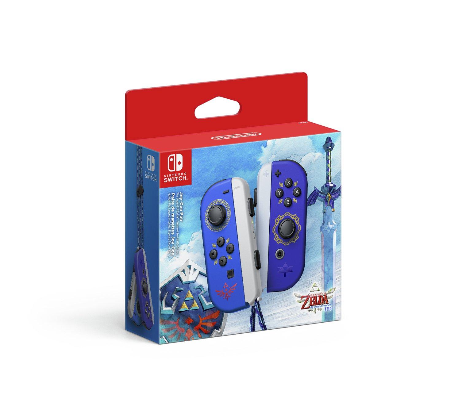 Nintendo Switch Joy-Con Pair - Skyward Sword Ed Pre-Order - £64.99 @ Argos