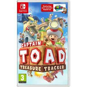Captain Toad's Treasure Tracker For Nintendo Switch - £22.40 delivered with code (UK mainland) @ AO eBay