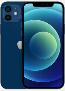 Apple MGJ83B/A iPhone 12 6.1'' 5G Smartphone 64GB SIM-Free Unlocked Blue A Used Condition £519.89 (UK Mainland) @ Cheapest_electrical / Ebay