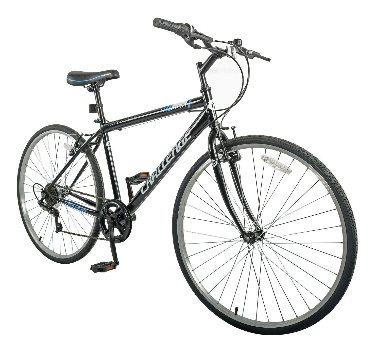 Men's Challenge Dune 27.5 Inch Wheel Size Hybrid Bike - £119.99 + Free click & collect @ Argos