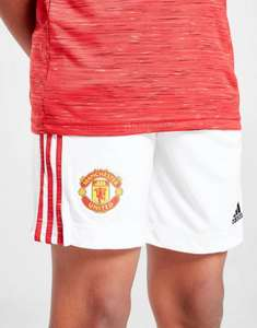 Man united Home kids football Adidas shorts £8 13/14 only at JD £1 click and collect also away and thirds available