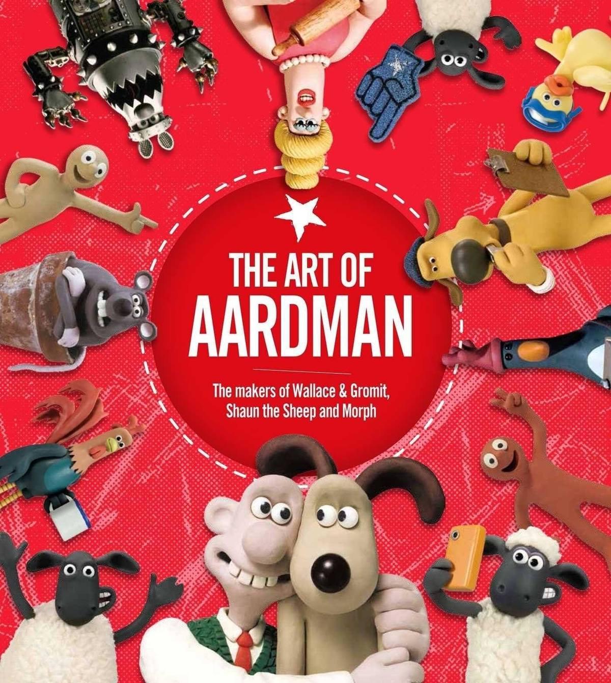 The Art of Aardman hardback book (Simon & Schuster) for £4.49 delivered @ Books2Door