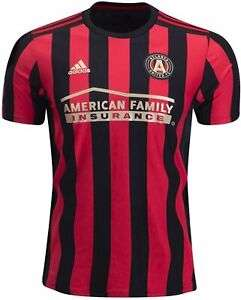 adidas Atlanta Utd Home Mens Football Shirt S/XS £13.60 @ eBay / Peach Sports
