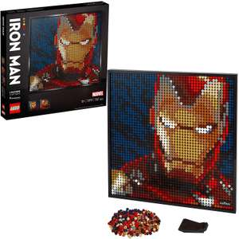 LEGO 31199 Art Marvel Studios Iron Man Collectors DIY Poster - £72.85 @ Amazon