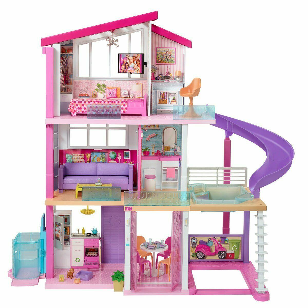 Barbie DreamHouse Playset - £183.99 delivered using code @ theentertainertoyshop / eBay (UK Mainland)
