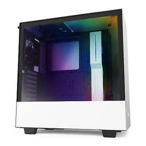 NZXT H510i RGB Tempered Glass Mid Tower Case - White/Black, £71.99 delivered using code (UK Mainland) at box_deals / eBay