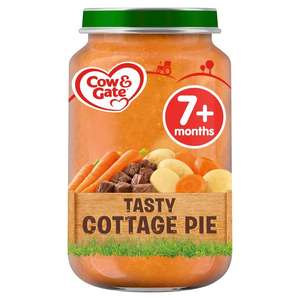 Various Cow & Gate baby food 7+ months - 20p instore @ Boots, Walkden