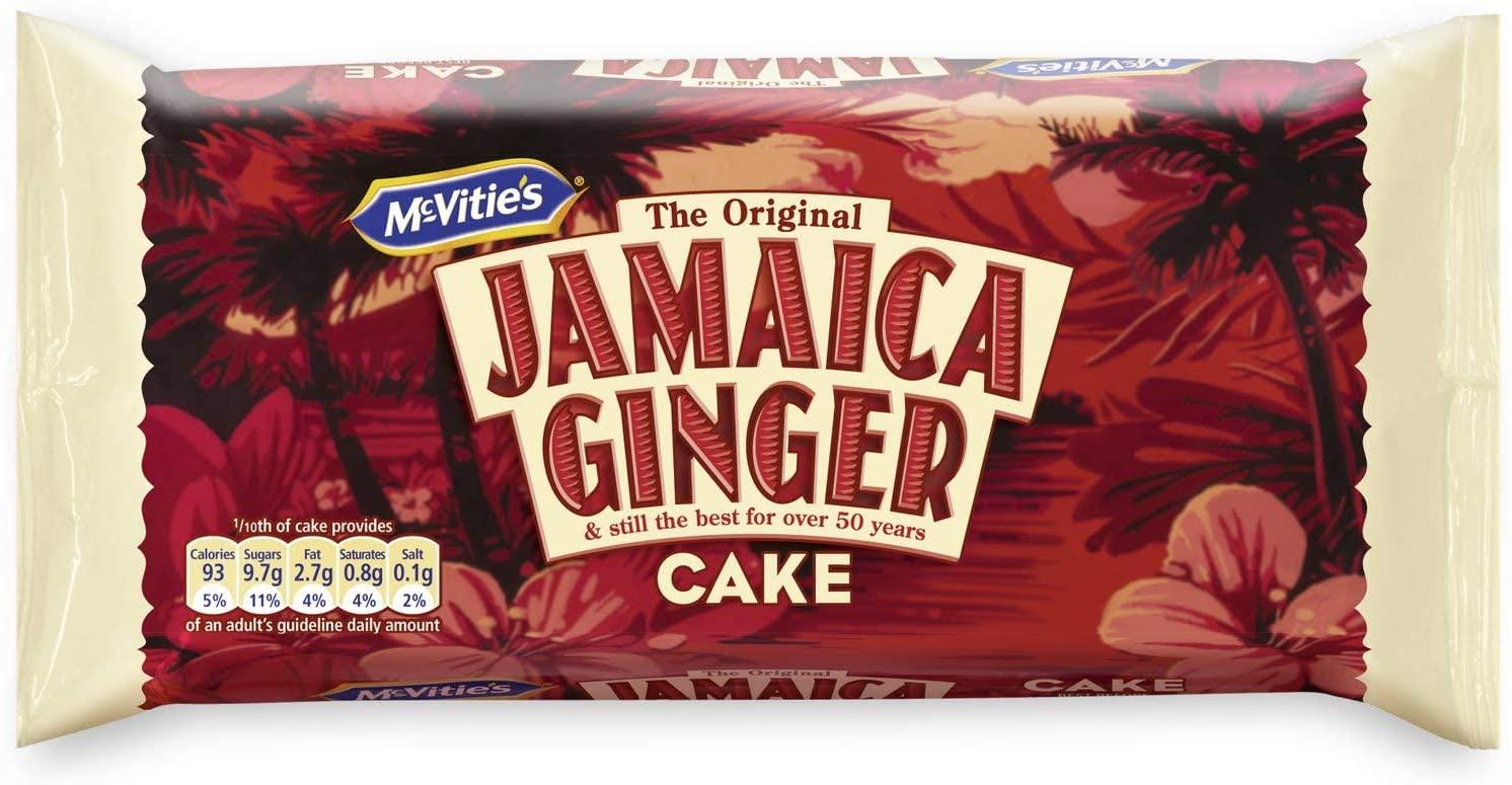 McVitie's Jamaica Ginger Cake 64p @ Asda
