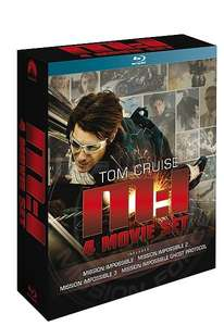 [Blu-Ray] Mission Impossible 1-4 Boxset - £3.80 delivered @ Rarewaves