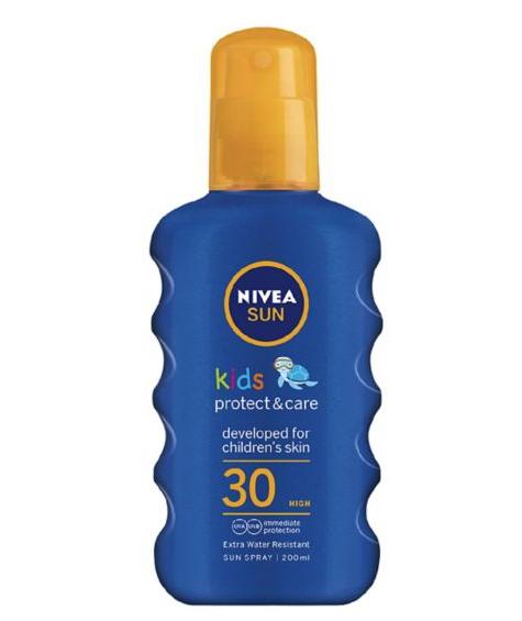 NIVEA SUN Kids Coloured Suncream Spray SPF30 200ml £2 @ Boots (Blackpool)