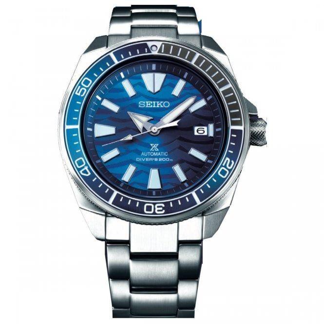 Seiko Men's Prospex Samurai Save The Ocean Automatic Diver's Bracelet Watch SRPD23K1 £340 @ Watcho