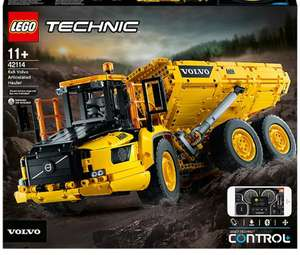 LEGO Technic 6x6 Volvo Articulated Hauler Truck - 42114 now £160.97 (Free click & collect) @ George (Asda)