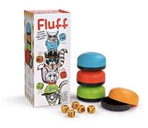 Bananagrams Fluff Rolling Dice Game - Family Game with Cups Like Liars Dice £1 instore @ Poundland Crayford