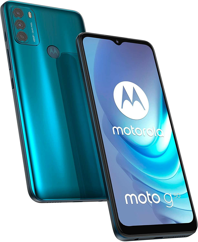 "Motorola Moto G50 5G Aqua Green 6.5"" 64GB Dual SIM Android 11 - £155.19 with code @ technolec_uk / ebay"