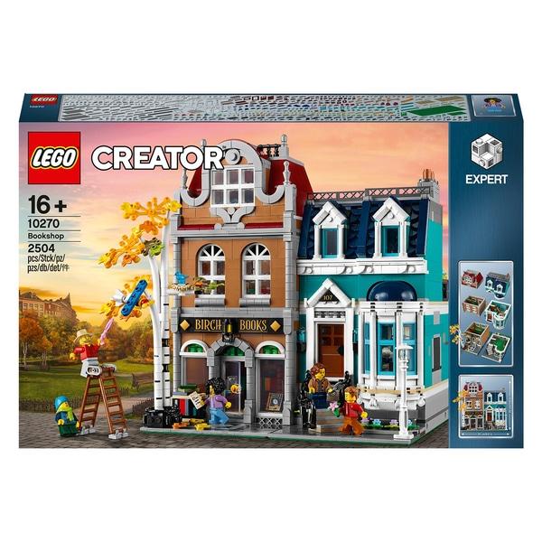 LEGO Creator 10270 Expert Bookshop Construction Set £129.99 Delivered / Click & Collect At Smyths Toys