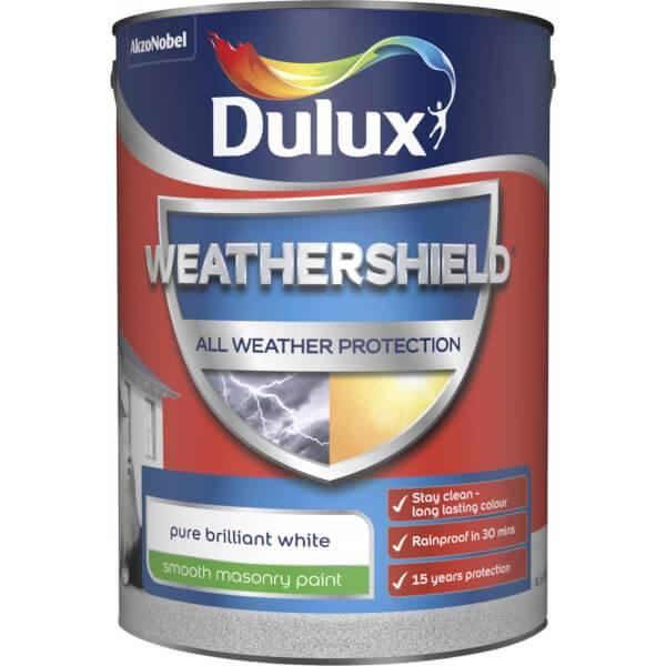 Dulux Weathershield Masonry Paint 10L £30 click & collect @ Homebase