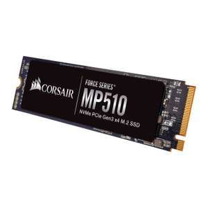 CORSAIR MP510 240GB PCIe M.2 NVMe SSD - (Refurb 1 year warranty) £23.99 delivered at Scan