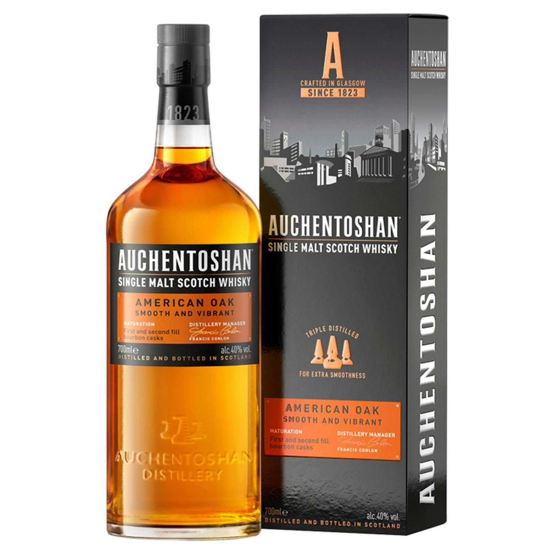 Auchentoshan American Oak single malt whisky 70cl for £20 at Sainsburys