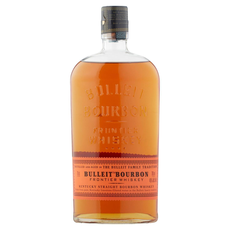 Bulleit bourbon whiskey 70cl for £18 at Sainsburys, Jun 16 - Jul 6