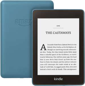 Kindle Paperwhite, Certified Refurbished, 8 GB, Twilight Blue, with Special Offers - £67.99 (Prime members) @ Amazon