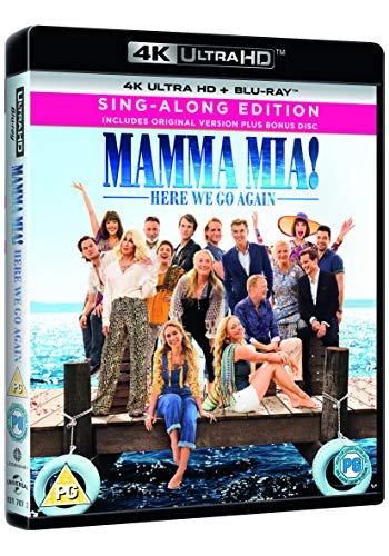 Mamma Mia! Here We Go Again 4K Ultra HD Sing-Along Version £5.69 (+£2.99 nonPrime) @ Amazon UK